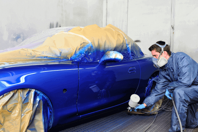 Importance of painting your car after collision: